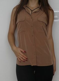 #vintedpl http://www.vinted.pl/damska-odziez/koszule/15118119-top-koszula-karmelowa-brazowa-next-3638