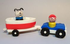 Fisher Price Little People Boat Tow