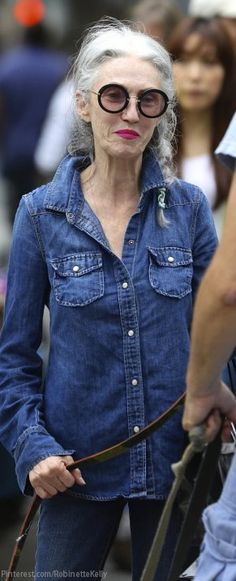 Ageless Style | Street Style. I want to be this awesome when I am in my older age.