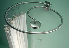 Diseño de duchas originales para cuartos de baño modernos