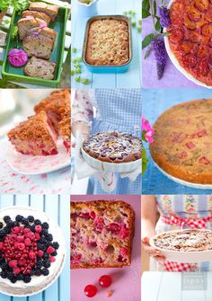 cakes with summer fruits by Lawendowy Dom