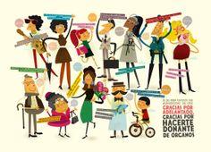Gracias por Adelantado Exposición: To be continued... Descripción: Diseño para exposición en distintas ciudades para ayudar a la concienciación en la donación de órganos. En esta exposición participan 34 diseñadores de toda España y es una iniciativa de Buenavista obra social.