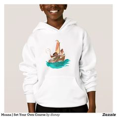 Moana   Set Your Own Course. Producto disponible en tienda Zazzle. Vestuario, moda. Product available in Zazzle store. Fashion wardrobe. Regalos, Gifts. Link to product: http://www.zazzle.com/moana_set_your_own_course_hoodie-235870996913255868?CMPN=shareicon&lang=en&social=true&rf=238167879144476949 #camiseta #tshirt #moana