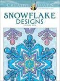 Creative Haven Snowflake Designs Coloring Book cover image