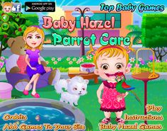 Baby Hazel needs your help in taking care of her little parrot, Charlie. http://www.topbabygames.com/baby-hazel-parrot-care.html