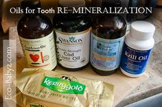 Cod liver oils for overall health and tooth remineralization (Cure Tooth Decay)