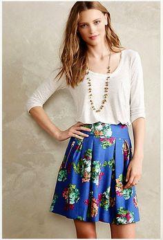 I want #pretty: #LOOK- Una #falda, 4 looks! / One #skirt, four #outfits!