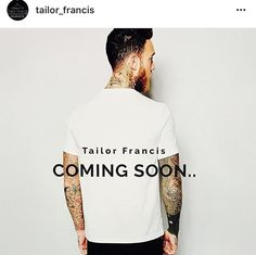 Tailor Francis is a brand for people of creativity and style that combines independent fashion and design, tradition and innovation. Work in Progress  #fashion #style #stylish #love #TagsForLikes #me #cute #photooftheday #nails #hair #beauty #beautiful #instagood #pretty #swag #pink #girl #girls #eyes #design #model #dress #shoes #heels #styles #outfit #purse #jewelry #shopping #glam