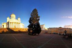Senaatintori, a Catedral de Helsinque, na Finlândia, onde começa a Parada Gay - Foto: Cassiano Mecchi (instagram.com/cassianomecchi)