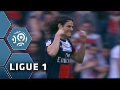 But Edinson CAVANI (43') - Paris Saint-Germain-Stade de Reims (3-0) - 05/04/14 - (PSG-SdR)