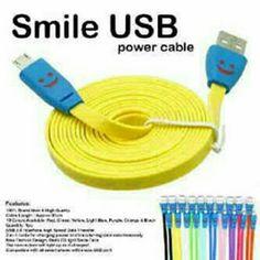 Temukan dan dapatkan Kabel Data / Charger USB Smile (Menyala) hanya Rp 3.500 di Shopee sekarang juga! http://shopee.co.id/moresco/17349870 #ShopeeID