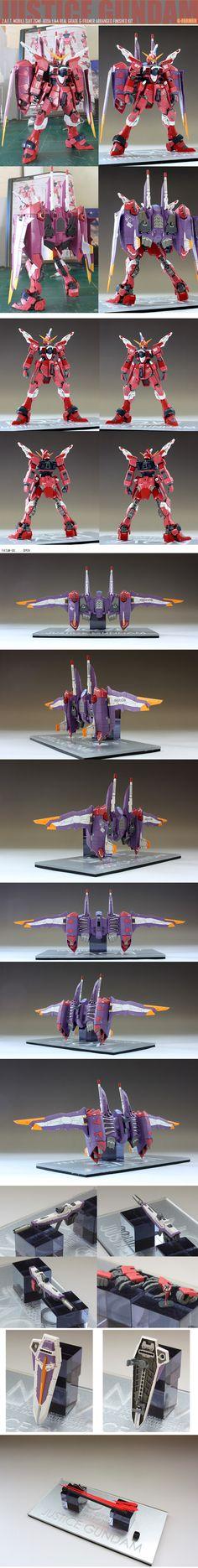 Gundam Justice Real Grade