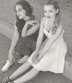 Dove Cameron and her BFF Veronica