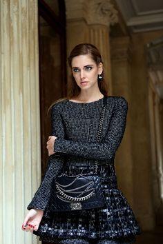 Paris fashionweek wearing Chanel