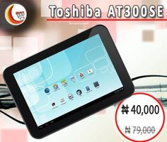 49% #OFF on #Toshiba_AT300SE at Blessing Computers Limited Shop online!! http://www.blessingcomputers.com/products/MOXVDYMTDA-Toshiba-AT300SE.html