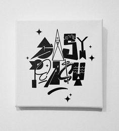 EASY PEASY  #type #typography #design #graphicdesign #illustration