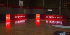 LED boards for Austrian basketball clubs Led Board, Basketball Court, Boards, Planks