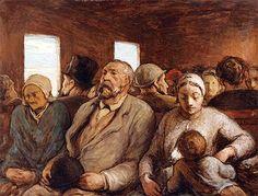 Honoré Daumier (1808-1879): Third Class  mubi.com, The Great Auteur Gallery