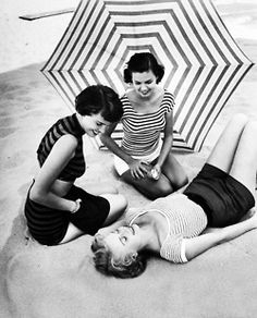 Beach Fashions photographed by Nina Leen, 1950