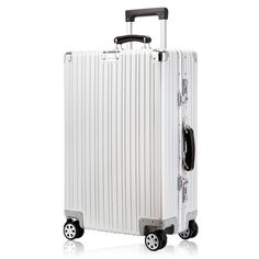 """286.41$  Know more - http://ait3w.worlditems.win/all/product.php?id=32788136468 - """"Aluminium magnesium alloy trolley luggage,20"""""""" 24"""""""" 28""""""""ultra quality full aluminum hardside trolley luggage on universal wheels"""""""