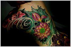 Japanese Water Tattoo Girl Back Designs Japanese Water Tattoo, Small Japanese Tattoo, Japanese Tattoo Meanings, Japanese Tattoo Designs, Japanese Sleeve Tattoos, Tattoo Designs And Meanings, Tattoos With Meaning, Body Art Tattoos, Tattoo Drawings