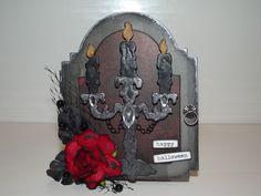 Gothic Vampire Cabinet Card - Scrapbook.com