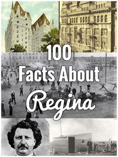100 Facts About Regina · Kenton de Jong Travel - In my December newsletter I said I wasn't going to write about Regina as much anymore and focus more on international locations, but after a friend of mine told me there was no interesting history. Canadian Travel, European Travel, Travel Europe, Voyage Canada, Montreal Travel, Saskatchewan Canada, Destinations, Interesting History, Travel Quotes