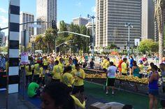 Vom Murgtal ins Silicon Valley – Reiseberichte eines Kraftjungen! Die erste Station: San Francisco, hier beim San Francisco Marathon!