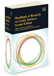Handbook of Research on Family Business, Second Edition - edited by Kosmas X. Smyrnios, Panikkos Zata Poutziouris, and Sanjay Goel - May 2013 (Elgar Original Reference / In Association with IFERA)