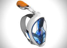 """""""마우스피스는 가라"""" 일체형 스노클링 장비 - 테크홀릭Tribord, Easybreath Snorkel Mask"""