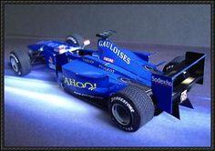 F1 Paper Models - Peugeot Prost AP03 Free Download