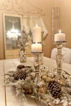 Beautiful Christmas Candles!