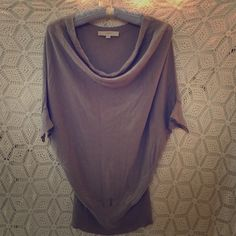 Loft Lilac Cowl Neck blouse Cute and soft, no signs of wear, but wrinkly cause it's been crushed in my closet! Needs new home! LOFT Tops Blouses