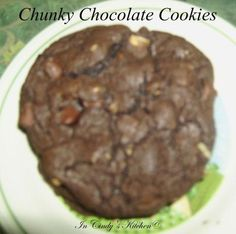 In Cindy's Kitchen: Chunky Chocolate Cookies