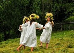 Sanziene is celebrated in Romania every year on of June. Although it is associated with the Birth of Saint John the Baptist, Sanziene is a pagan celebration which origins in an old Dacian solar cult.
