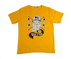 Beardy Bro mens tee available at www.ilovepolypop.com