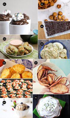 10 healthy + easy snacks