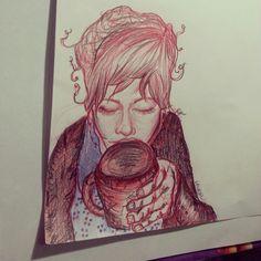 Danielle,  sister sketch ♥ her so