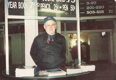 Souvenier guy Tom Torpy. October 6, 1991.