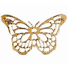 Délicates finitions pour ces papillons dorés ajourés adhésifs et large choix de coloris pour une déco de table tout en finesse.A coller sur vos tout type de présentation: menus, marque place ou encore cadeaux d'invités.....Ils habilleront vos gouttes, boules déco transparentes et galets marque place.
