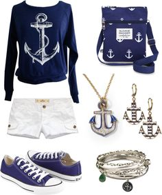 """""""refuse to sink"""" by alessandraw ❤ liked on Polyvore. Love the bag and sweater!"""