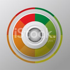 modern circle button design royalty-free stock vector art