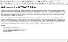 what is wysiwyg editor - Google Search Google Search, Grief