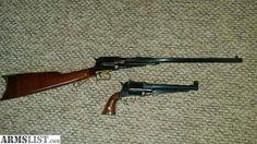 Uberti Colt Walker Carbine and Handgun combo