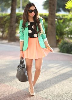 Buy me anything in either of those colors and I will love you forever! #coral #mintgreen #peach