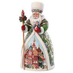 Jim Shore Russian Santa Figure