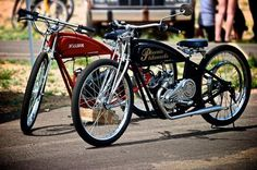 premiere motorized bicycle race and rally racers come from all over ...