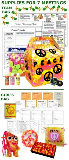 Peace Journey Badge in a Bag® Complete your Cadette aMaze Journey for less than $1.50 per girl per meeting!