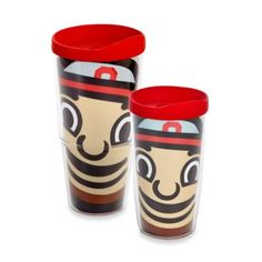 Tervis® Ohio State University Brutus Wrap Tumblers with Red Lid - BedBathandBeyond.com