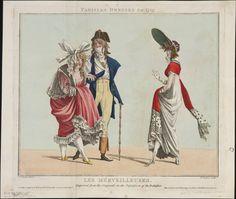 Les me´rveilleuse, March 1797, Lewis Walpole Library Digital Collection